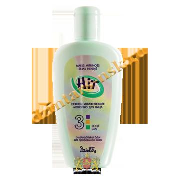 Нежное увлажняющее молочко для лица «HIT» для проблемной кожи