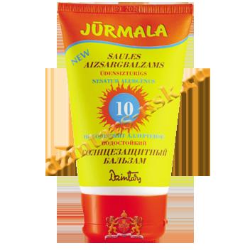 Солнцезащитный бальзам «Юрмала» SPF 10 UVA + UVB водостойкий