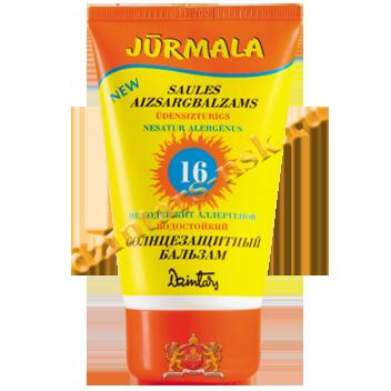 Солнцезащитный бальзам «Юрмала» SPF 16 UVA + UVB водостойкий