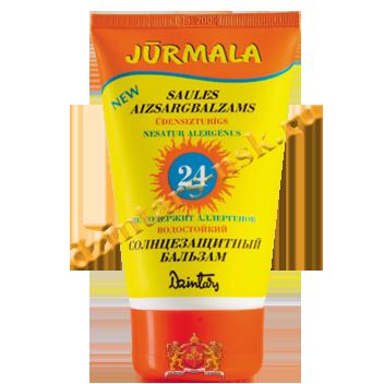 Солнцезащитный бальзам «Юрмала» SPF 24 UVA + UVB водостойкий