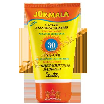 Солнцезащитный бальзам «Юрмала» SPF 30 UVA + UVB водостойкий