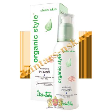Очищающее молочко для нормальной и комб. кожи лица Organic Style Clean skin