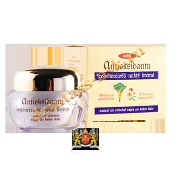 Антиоксидантный ночной регенерирующий крем для сухой и увядающей кожи