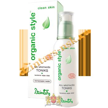 Смягчающий кожу тоник для жирной кожи лица Organic Style Clean skin