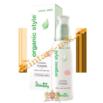 Очищающий тоник для любого типа кожи лица Organic Style Clean skin