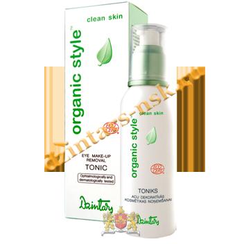 Тоник для снятия макияжа глаз Organic Style Clean skin
