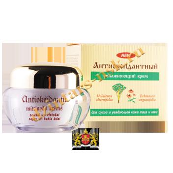 Антиоксидантный увлажняющий крем для сухой и увядающей кожи лица и шеи