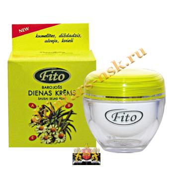 Питательный дневной крем для сухой кожи лица Fito