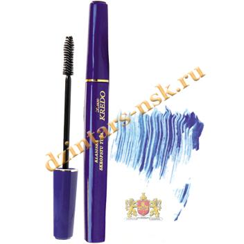 Классическая тушь для ресниц «KREDO lux» синяя