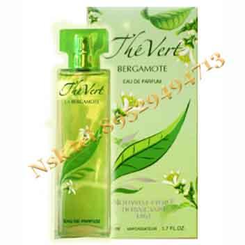 Духи «Зелёный чай с бергамотом»,Новая Заря