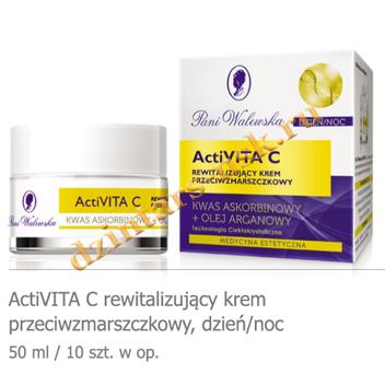 Pani Walewska ActiVITA C ревитализирующий крем против морщин