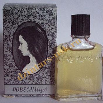 """Ретро-духи """"Ровесница"""", Азербайджанская фабрика «Гюльшан»."""