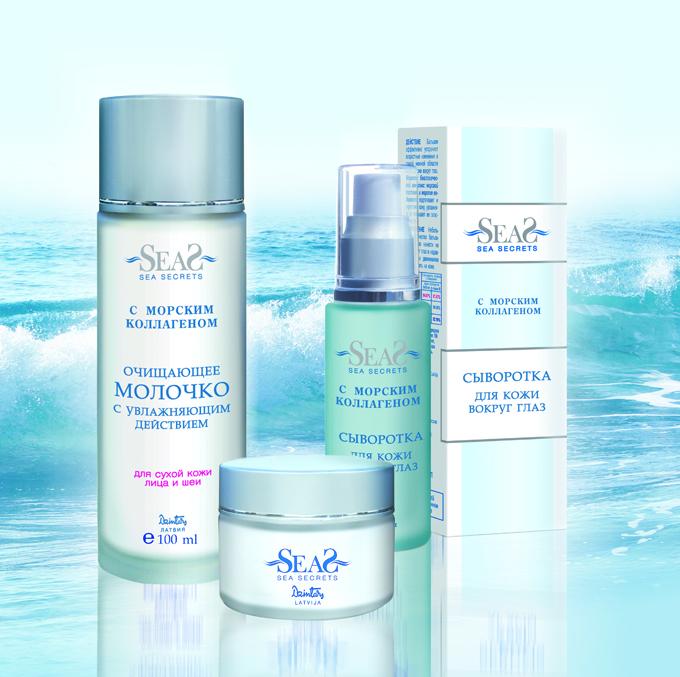 Дай коже влагу с продукцией косметической серии «Sea Secrets»!