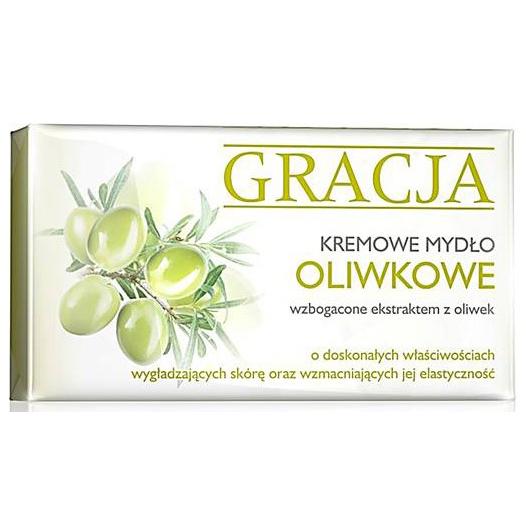 Крем-мыло туалетное с экстрактом оливы Miraculum Gracja Oliva