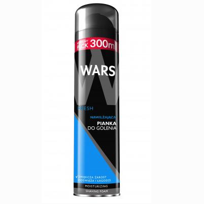 Wars Fresh Пенка для бритья увлажняющая