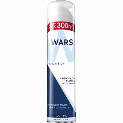 Wars Sensitive успокаивающая пенка для бритья