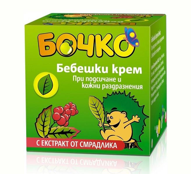 Крем для младенцев против раздражения кожи Лавена Baby Ёжик 40 ml