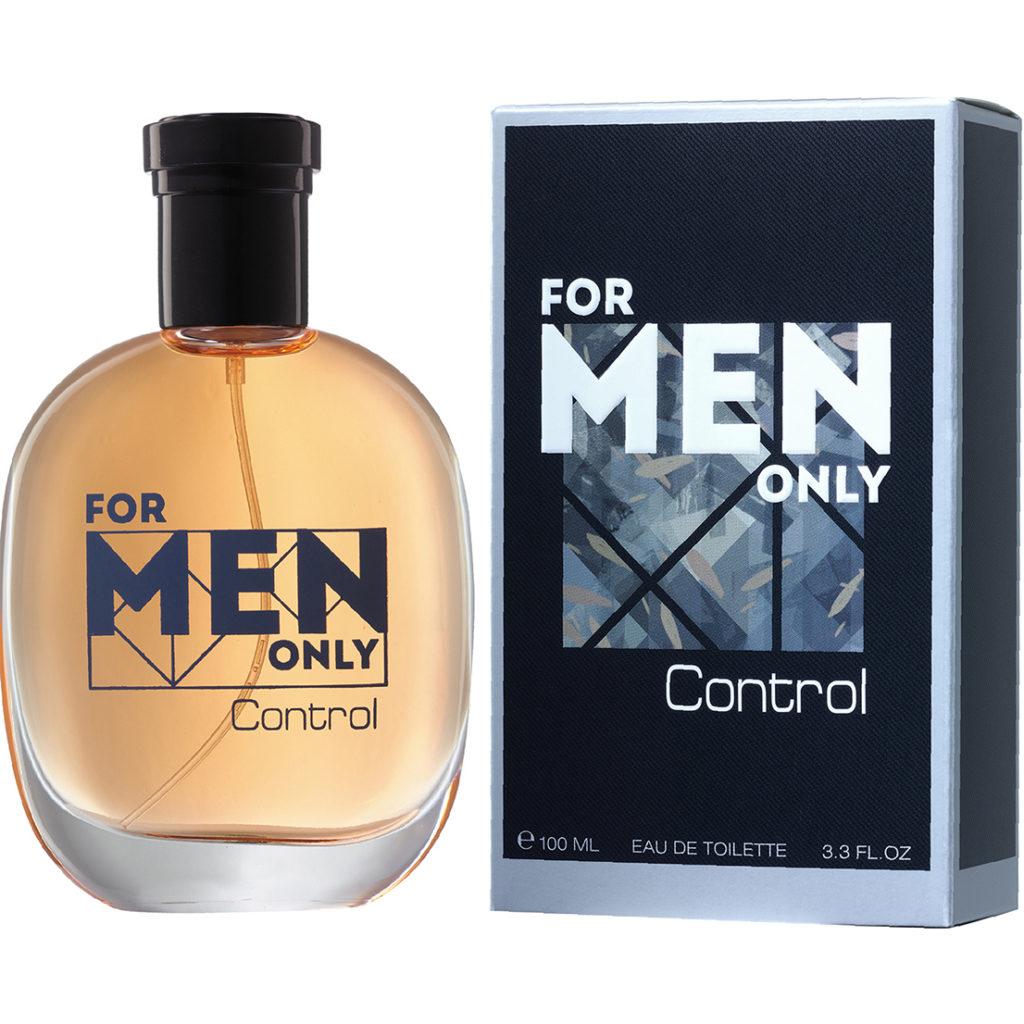 Мужская туалетная вода FOR MEN ONLY. CONTROL , Брокард и К