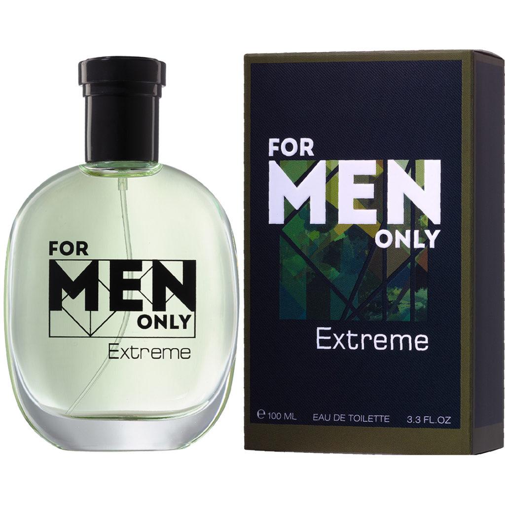 Мужская туалетная вода FOR MEN ONLY. EXTREME , Брокард и К