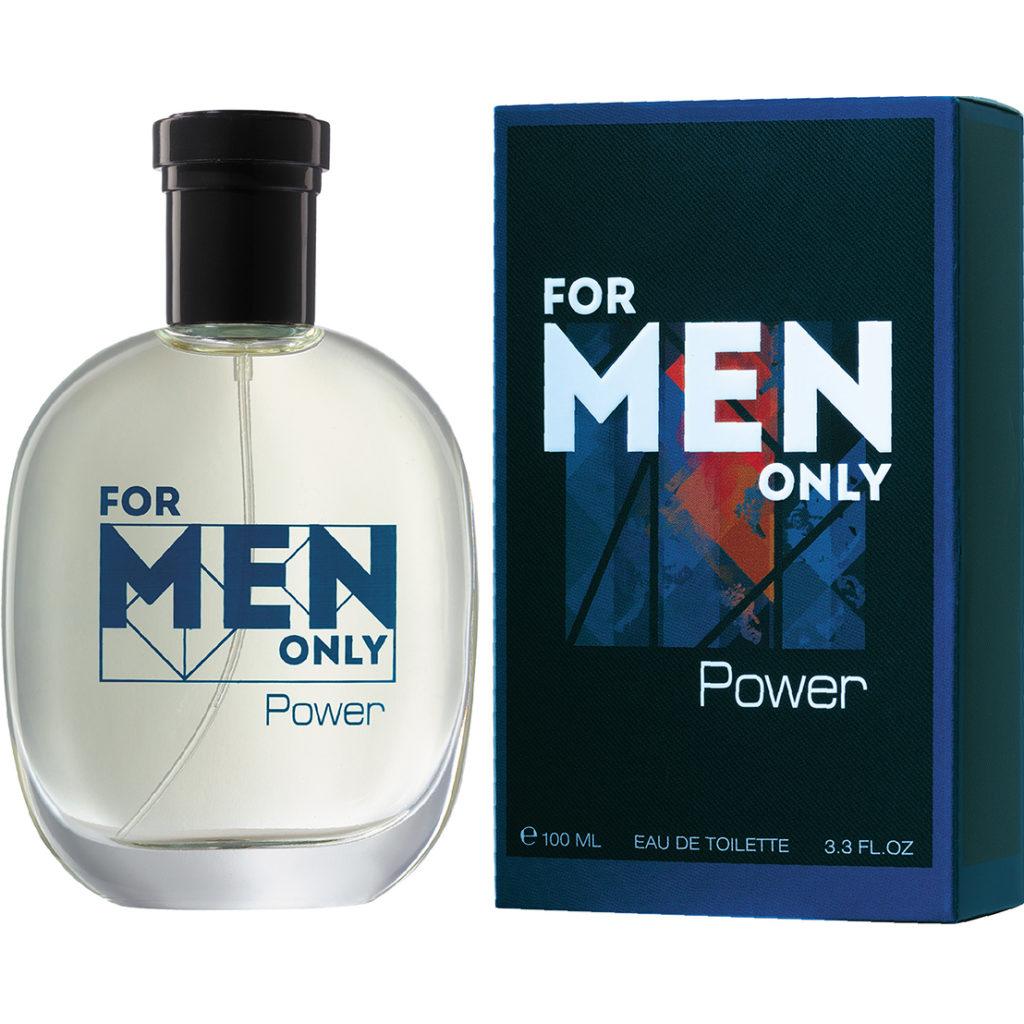Мужская туалетная вода FOR MEN ONLY. POWER , Брокард и К