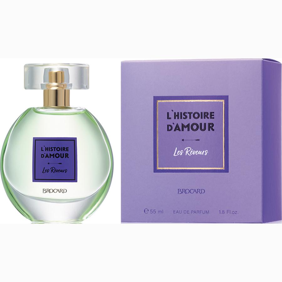 Женская парфюмерная вода «LES REVEURS» (МЕЧТАТЕЛИ), Брокард
