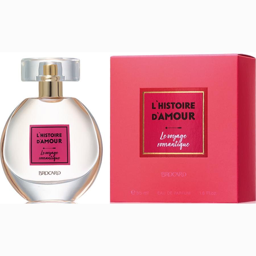 Женская парфюмерная вода «LE VOYAGE ROMANTIQUE» (Романтическое путешествие), Брокард