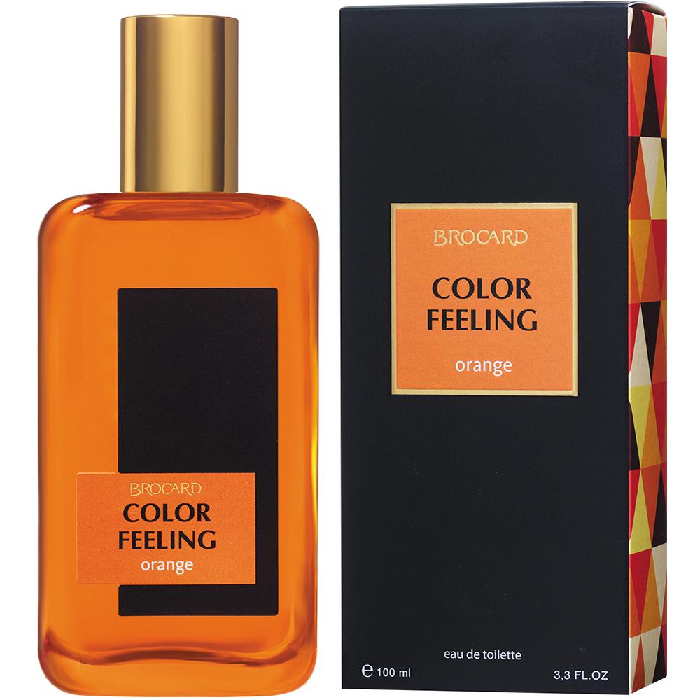 Чувство цвета . Оранж. Мужская туалетная вода. Брокард