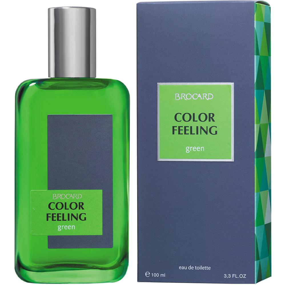 Чувство цвета.Зелёный. Мужская туалетная вода. Брокард