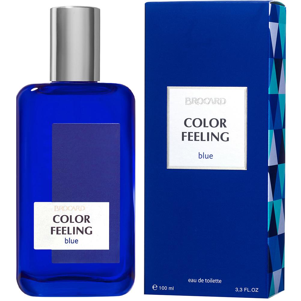 Чувство цвета. Синий.Мужская туалетная вода.Брокард